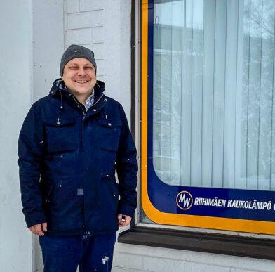 Antti Eskola - toimitusjohtaja Riihimäen Kaukolämpö Oy