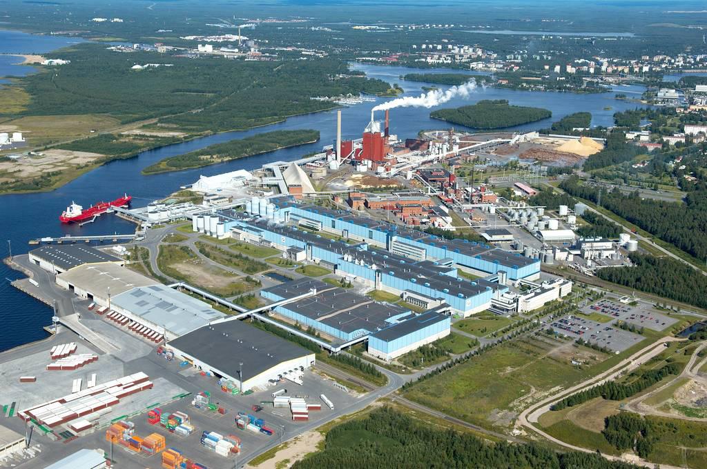 Oulu Nuottasaari, Elcoline-osaamiskeskus, ilmakuva
