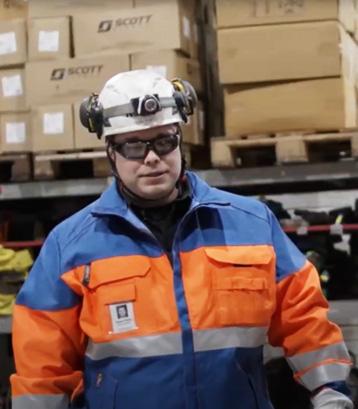 Teemu Pohto, liiketoimintajohtaja, Elcoline Plant Service, Raahe