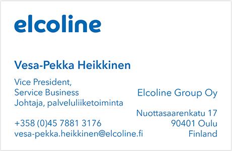 Vesa-Pekka Heikkinen käyntikortti